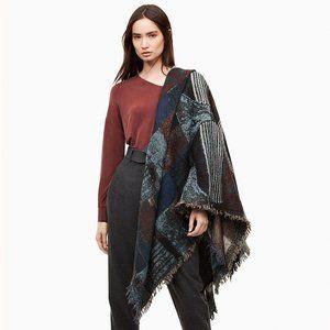 Aritzia Wilfred Haus Party Wool Blanket Scarf